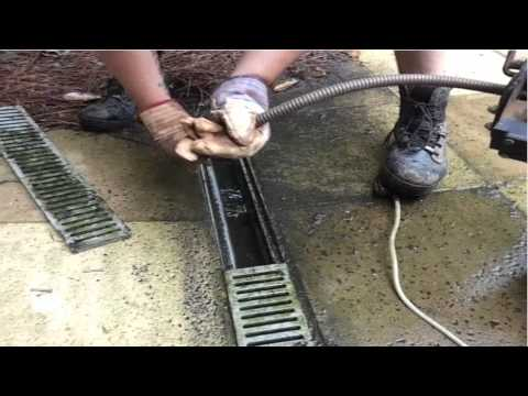 Save $1000's - French Drain Cleaning / Repair