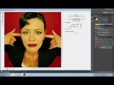 How to Make Your Nose Smaller in Photoshop CS6