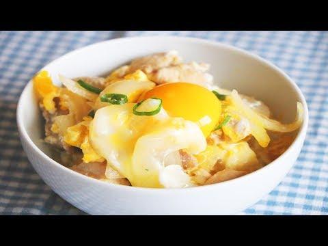 FANTASTIC Oyakodon Chicken and Egg Bowl 親子丼 CiCi Li