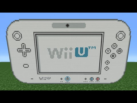 Minecraft Tutorial: How To Make A Wii U Gamepad