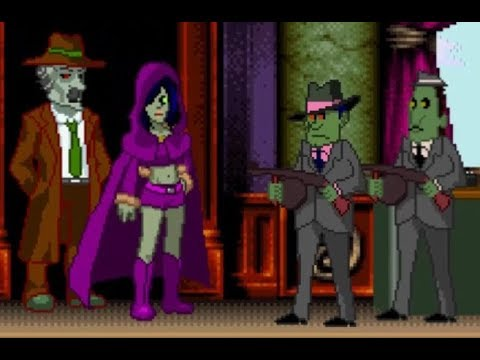ZOMBIE SOCIETY DEAD DETECTIVE - A CAT'S CHANCE IN HELL GAME WALKTHROUGH