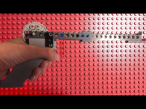 How to make a working full auto lego gun