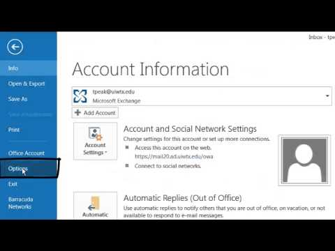 Creating a digital Signature in Outlook