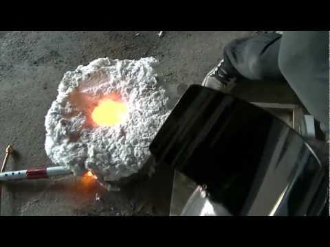 homemade cast aluminium