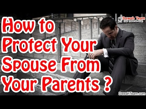 How to Protect Your Spouse From Your Parents ? ᴴᴰ ┇Mufti Menk┇ Dawah Team
