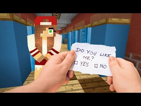 Realistic Minecraft - Highschool Girlfriend ❤️️