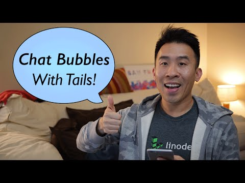 Swift: FB Messenger - Chat Bubbles With Tails! (Ep 6)