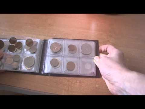 60 Coin Collection Album