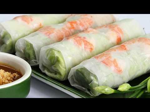 Vietnamese Food: How to make Vietnamese goi cuon