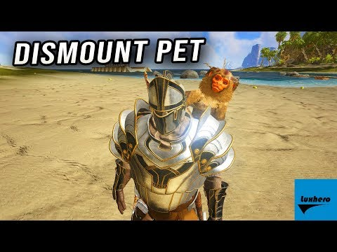 Atlas - How to Dismount Shoulder Pet (Monkey, Parrot, etc)