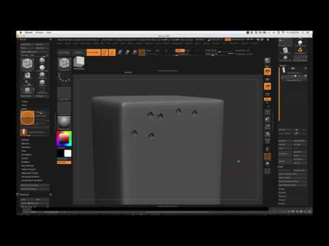ZBrush 4r8: Booleans For Environment Artists