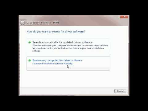 Install WLAN internet driver on pc
