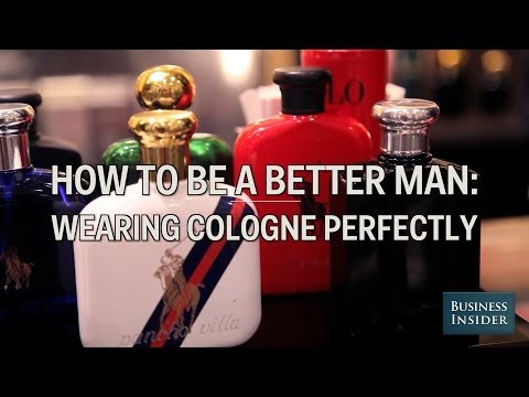 How To Put On Cologne The Right Way