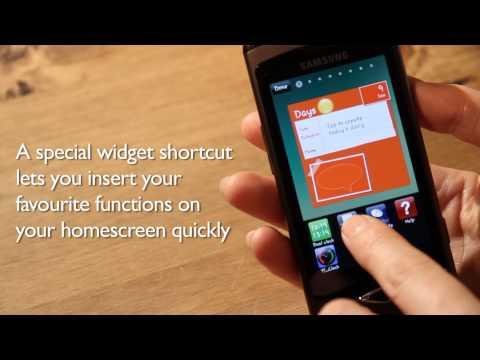 Samsung Wave hands-on video UK