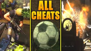 Modern Warfare 2 Remastered ALL INTEL CHEATS Gameplay Showcase! (MW2 Remastered All Cheats Gameplay)