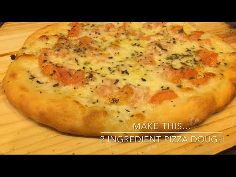 Make This... 2 Ingredient Pizza Dough