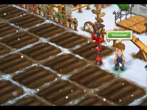 FarmVille 2 SNOWING.... Lenny Parker