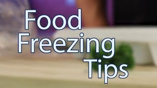 Food Freezing Tips: How to make sure your frozen food lasts