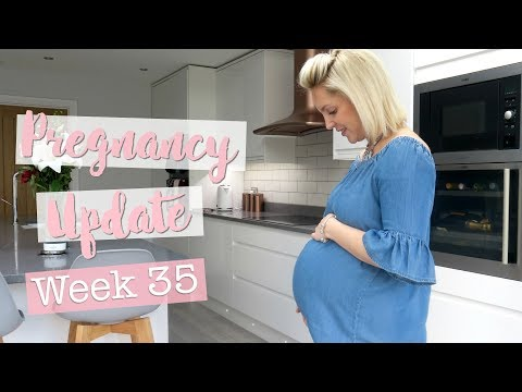 35 Weeks Pregnant | TMI Update, Early Labour Signs, Emma's Diary & Bounty Pack - Free Nappies!