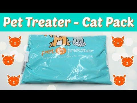 Pet Treater - Cat Pack May 2018 + Promo Code!