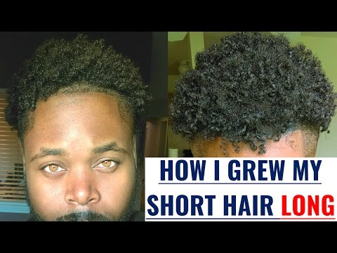 How to Grow your Hair faster and longer for men