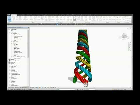 Helix in Revit Using Stairs