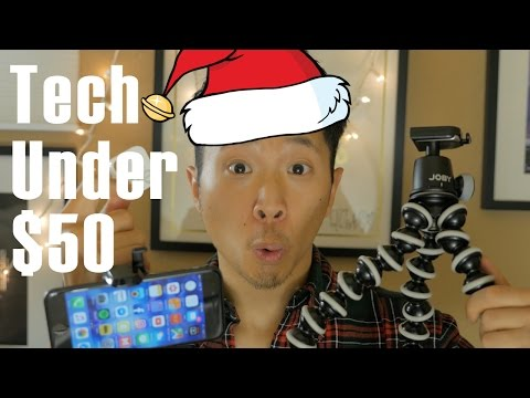 Tech Gifts Under $50 | Holiday Gift Guide