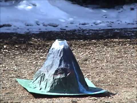 Best Homemade Volcano Ever