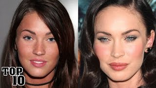 Top 10 Celebrities You Didn't Know Had Plastic Surgery