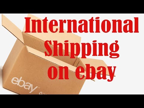 How to Ship International on Ebay Step-by-Step Directions
