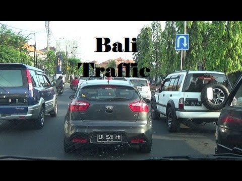 Bali Traffic, Driving in Indonesia
