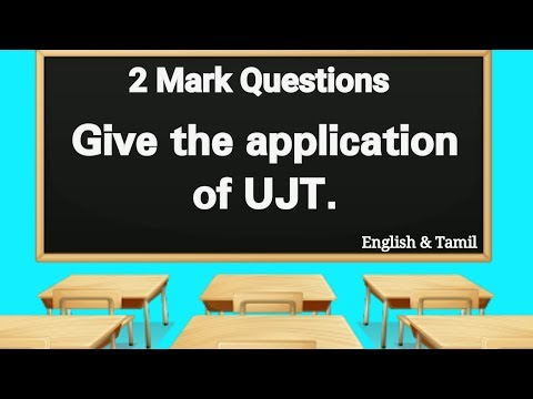 Application of UJT