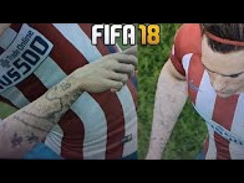 FIFA 18: NEW TATTOS | New Awesome Ink Featured in FIFA 18 Gameplay!