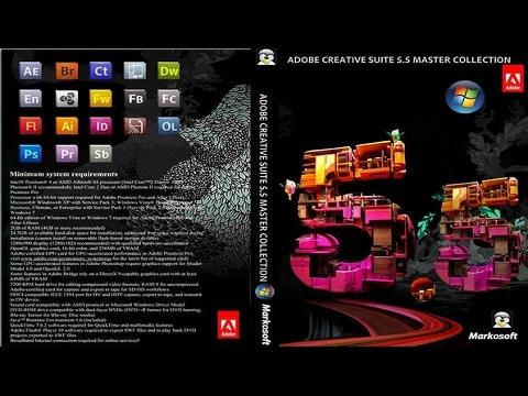 Hướng dẫn cách cài đặt Adobe Master Collection CS5.5