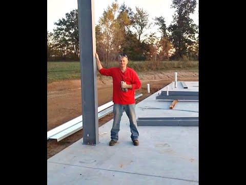 Steel Frame Building Do It Yourself Kit w/ American Steel, Michael R Vanderpool LONG VERSION 2