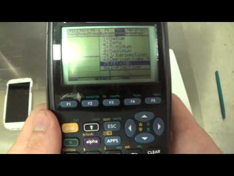 TI-89 TI-83 Finding Derivatives and Integrals