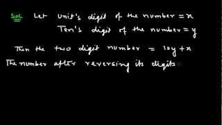 Ex 3.4 : Q.2(iii) : The sum of the digits of a two-digit number is 9... Ch 3 | Math for Class X CBSE