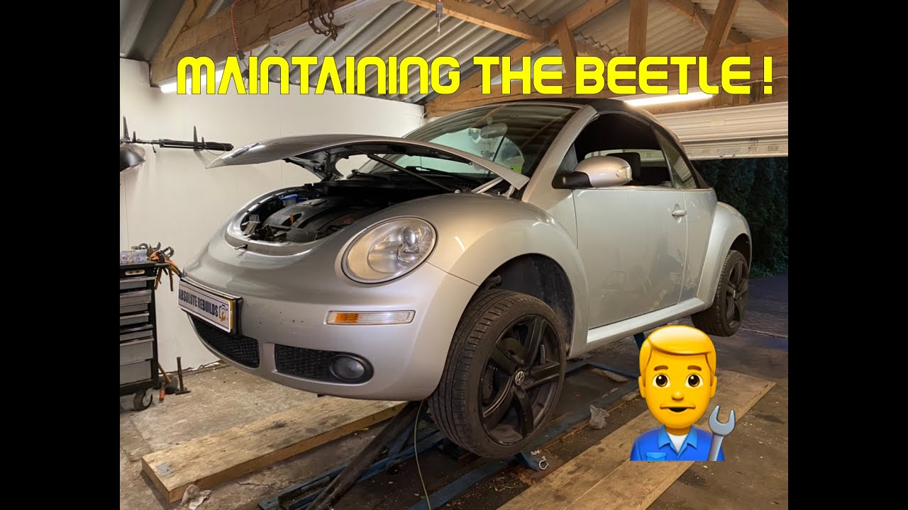 How to: Do maintenance on a Volkswagen New Beetle Convertible 1.6l petrol 1998-2011.