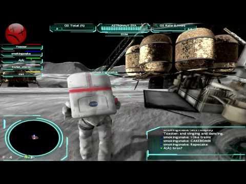 Moonbase Alpha Gameplay (german)