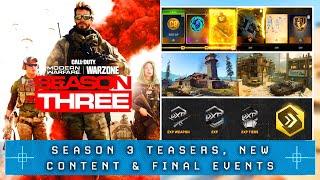 Modern Warfare: The SEASON 3 PREVIEW & Final Events... (New Maps, Operator & More)