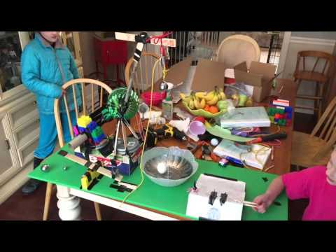 Emme's Egg Cracker Rube Goldberg w/ Paracord, Gorilla Tape & Paiute Trigger