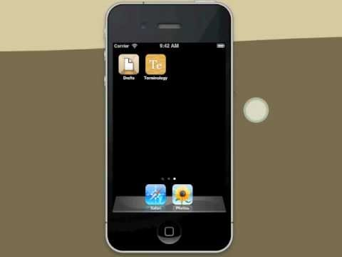 Drafts app for iPhone