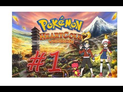 Pokémon HeartGold - Cap. #1 ¡Bienvenido Magby a la aventura y el favor de Elm! The Real Jackco.