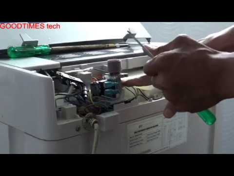 Fully Automatic Washing Machine not taking water {Water not flowing into the drumTub }