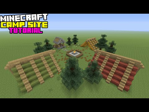 Minecraft Tutorial: How To Make A Camp Site