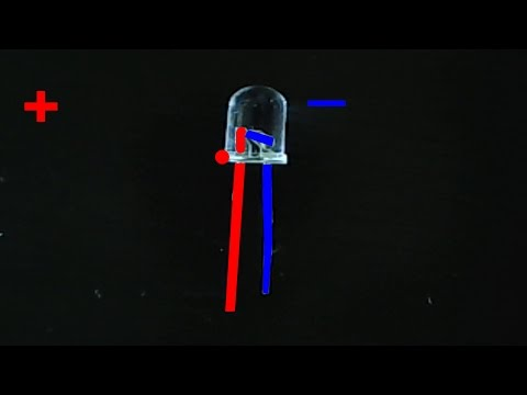 LED polarity