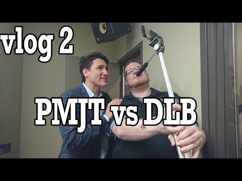 Prime Minister Trudeau Can't Howl! - DLBvlog 2
