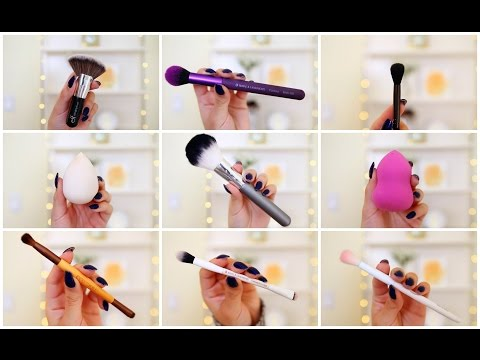 THE BEST AFFORDABLE MAKEUP BRUSHES + BEAUTY BLENDER DUPES | JuicyJas