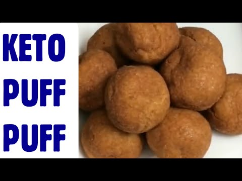 HOW TO MAKE KETO PUFF PUFF //BUFFLOAF//bofrot