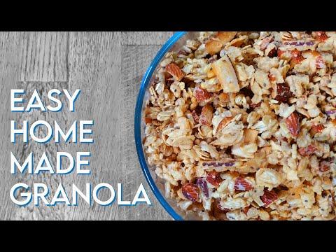 HOMEMADE GRANOLA Coconut, Almond & Chia